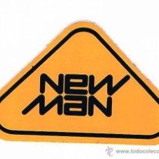 Pegatinas de colección: PEGATINA ANTIGUA NEW MAN. Lote 50949594