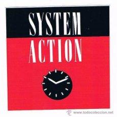 Pegatinas de colección: PEGATINA ANTIGUA SYSTEM ACTION. Lote 50949649
