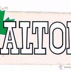 Pegatinas de colección: PEGATINA ANTIGUA ALTON. Lote 50949904