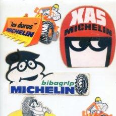 Pegatinas de colección: LOTE DE 5 PEGATINAS MICHELIN. Lote 51238403