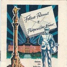 Pegatinas de colección: 0624G - DATOS DE INTERES DEL SERVICIO DE CORREOS (1964) FELICES PASCUAS. Lote 51767126