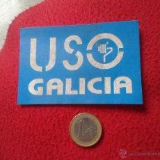 Pegatinas de colección: PEGATINA ADHESIVO STICKER POLITICA SINDICAL REIVINDICATIVA USO GALICIA IDEAL COLECCION VER FOTO/S Y . Lote 53586055