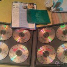 Pegatinas de colección: ENCICLOPEDIA AUDIOVISUAL. LEXI TOW. MONDO MAGAZIN 1991.FRANCES. Lote 53837125
