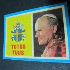 Pegatinas de colección: PEGATINA ADHESIVO TOTUS TUUS. VISITA DE JUAN PABLO II A ESPAÑA.. Lote 54063016