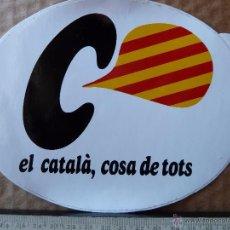 Pegatinas de colección: EL CATALA ,COSA DE TOTS. Lote 54599340