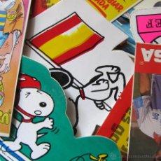 Pegatinas de colección: 137 PEGATINAS AÑOS 80 - 90. Lote 54855998