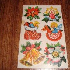 Pegatinas de colección: PEGATINAS DE NAVIDAD. Lote 55863699