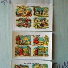Pegatinas de colección: 3 CALCOMANÍAS ORTEGA, ANTIGUAS. TAMAÑO 11 X 15,5 CM. APROX. - SERIE P. N.. Lote 56551859