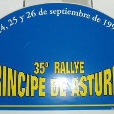 Pegatinas de colección: 35º RALLYE PRINCIPE DE ASTURIAS 1998. Lote 56953251