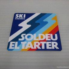 Pegatinas de colección: SOLDEU EL TARTER. Lote 57127886