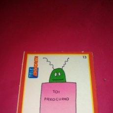 Pegatinas de colección: PEGATINA CROMO TOI REVISTA TELE INDISCRETA TOI PREOCUPAO Nº13 AÑOS 80.. Lote 57161187