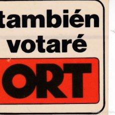 Pegatinas de colección: PEGATINA, PEGATINAS, ADHESIVO, ADHESIVOS. ORT ELECCIONES GENERALES 1979. Lote 58186722