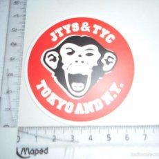 Pegatinas de colección: PEGATINA PARA COCHE MOTO SKATEBOARD MALETAS GRAFITIS TOKYO AND N.Y. Lote 58222232