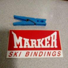 Pegatinas de colección: PEGATINA MARKER SKI BINDINGS. Lote 58957341