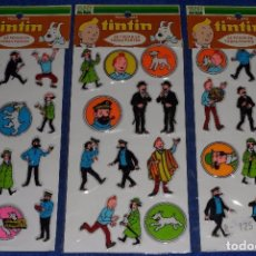 Pegatinas de colección: TINTIN - MUNDI PAPER. Lote 61640936