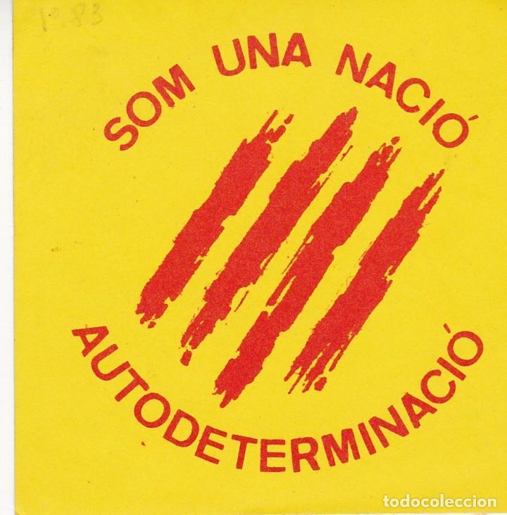 PEGATINA, PEGATINAS, ADHESIVO, ADHESIVOS. POSI (TROSKOS) 1983 (Coleccionismos - Pegatinas)