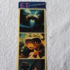 Pegatinas de colección: ANTIGUA TIRA DE PEGATINAS DE E.T. EL EXTRATERRESTRE (AÑO 1982). ADHEVESA. GRAN TAMAÑO. ORIGINAL. Lote 62759664