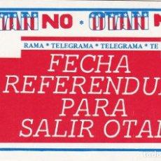 Pegatinas de colección: PEGATINA, PEGATINAS, ADHESIVO, ADHESIVOS. POSI HACIA 1985. Lote 63364748