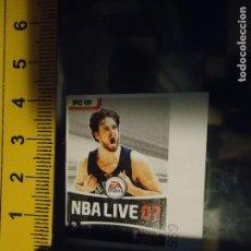 Autocolantes de coleção: PEGATINA CROMO ADHESIVO . BALONCESTO , NBA LIVE 07 . Lote 65012895