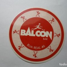 Pegatinas de colección: PEGATINA BALCON BAR. Lote 65014651