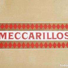 Pegatinas de colección: PEGATINA PUBLICITARIA DE TABACO. PURITOS MECCARILLOS.. Lote 70352147