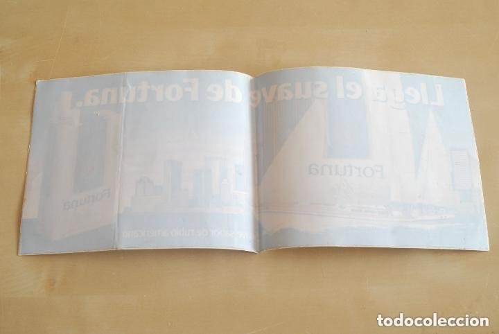PEGATINA PUBLICITARIA DE TABACO. CIGARRILLOS FORTUNA. (Coleccionismos - Pegatinas)