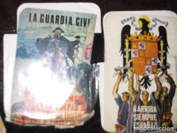 Pegatinas de colección: gran lote 15 pegatina politica españa franco tejero guardia civil requetes legion fuerza nueva - Foto 6 - 71209033
