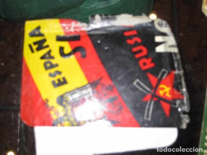 Pegatinas de colección: gran lote 15 pegatina politica españa franco tejero guardia civil requetes legion fuerza nueva - Foto 8 - 71209033