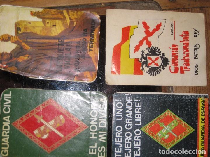 Pegatinas de colección: gran lote 15 pegatina politica españa franco tejero guardia civil requetes legion fuerza nueva - Foto 9 - 71209033