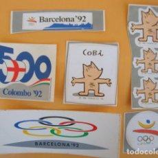 Pegatinas de colección: PEGATINAS BARCELONA 1992 (COBI, OLIMPIADAS). Lote 72354031