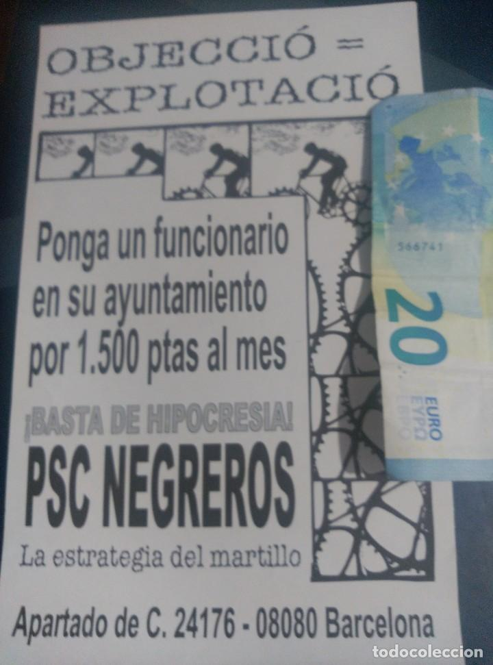 PEGATINA POLÍTICA MPC BARCELONA ESCLAT MOVIMENT PATRIOTIC CATALA (Coleccionismos - Pegatinas)