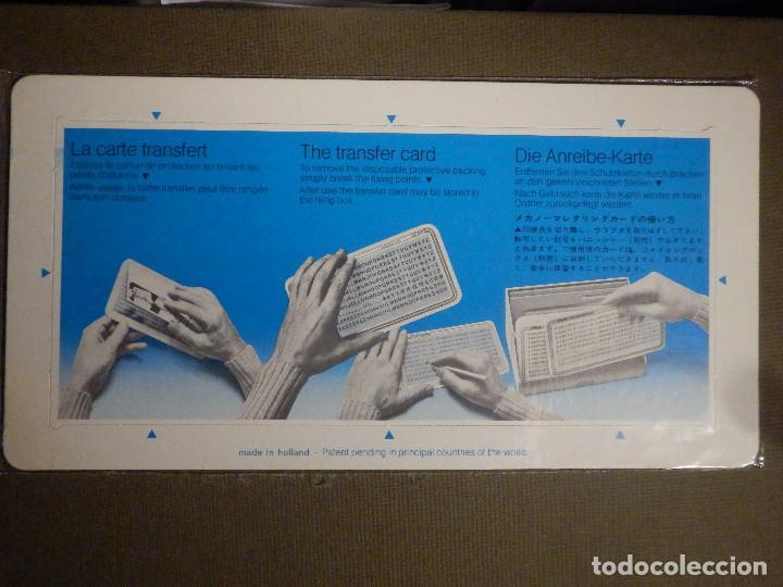 Pegatinas de colección: MECANORMA - Números, letras y signos transferibles - 7,7 MM. HELVÉTICA - CC 22.28 LN - NUEVO - - Foto 2 - 74651687