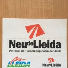 Pegatinas de colección: PEGATINAS DE LLEIDA. Lote 76929525