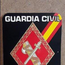Pegatinas de colección: ADHESIVO / PEGATINA. GUARDIA CIVIL. DE LUTO ESTAS POR DEFENDER A ESPAÑA / SIN DESPEGAR.. Lote 78573797