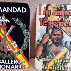Pegatinas de colección: ADHESIVO / PEGATINA. CABALLEROS LEGIONARIOS / LA LEGIÓN TE ESPERA / SIN DESPEGAR.. Lote 78576209