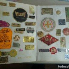 Pegatinas de colección: ESPECTACULAR LOTE DE MAS DE 500 PEGATINAS VARIADAS, DEPORTE, NEGOCIOS, MARCAS, AÑOS 60-70. Lote 80265761