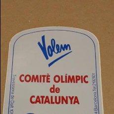 Pegatinas de colección: ADHESIVO / PEGATINA - VOLEM COMITÈ OLÍMPIC DE CATALUNYA / NUEVO SIN DESPEGAR.. Lote 81302728