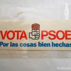 Pegatinas de colección: VOTA PSOE. Lote 81574644