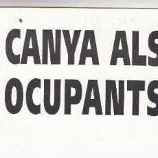 Pegatinas de colección: PEGATINA, PEGATINAS, ADHESIVO, ADHESIVOS. INDEPENDENTISTAS 1999. Lote 83515392