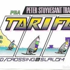 Pegatinas de colección: ADHESIVO PEGATINA PETER STUYVESANT TRAVEL TARIFA AÑO 1990. Lote 83691972