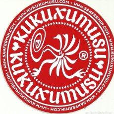 Pegatinas de colección: ADHESIVO PEGATINA KUKUXUMUSU. Lote 83731892