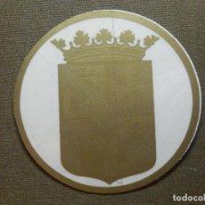 Pegatinas de colección: PEGATINA - ADHESIVO - STICKER - MUTUALIDAD PALENTINA DE SEGUROS - 70 MM. - P/ CRUSTAL. Lote 84658724