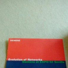 Pegatinas de colección: ENTRADA PABELLON DE SIEMENS EXPO 92. Lote 85452779