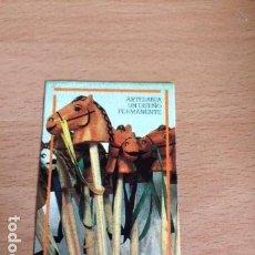 Pegatinas de colección: ARTESANIA UN DISEÑO PERMANENTE. Lote 85994540