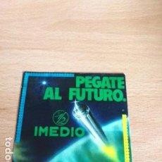 Pegatinas de colección: PEGATE AL FUTURO IMEDIO. Lote 85996512
