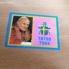 Pegatinas de colección: PAPA JUAN PABLO TOTUS TUUS. Lote 85997048