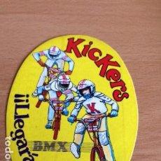 Pegatinas de colección: KICKERS BMX LLEGARAS LEJOS. Lote 86003552