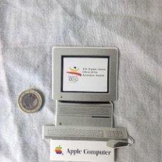 Pegatinas de colección: APPLE COMPUTER. ADHESIVO PEGATINA APPLE MAC IICI. JUEGOS OLIMPICOS 1992. Lote 86012304