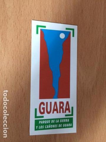 PARQUE DE LA SIERRA Y LOS CAÑONES DE GUARA (Coleccionismos - Pegatinas)