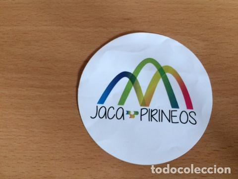 JACA PIRINEOS (Coleccionismos - Pegatinas)